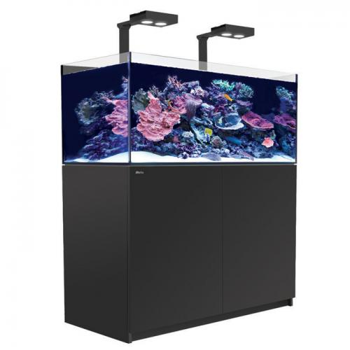 Red Sea REEFER 250 DELUXE System with 2 X Hydra HD 26 LEDs - [54 gal - Black]