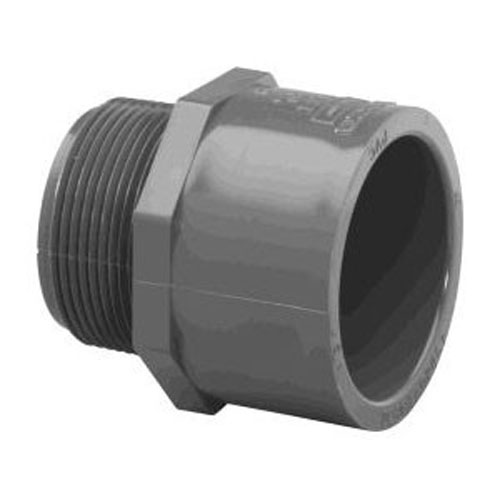 1/2 in. PVC Coupling [Slip x MPT]