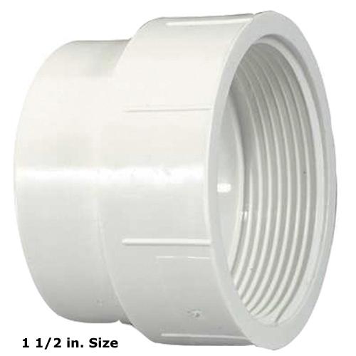 1 in. PVC Coupling [Spigot X FPT]