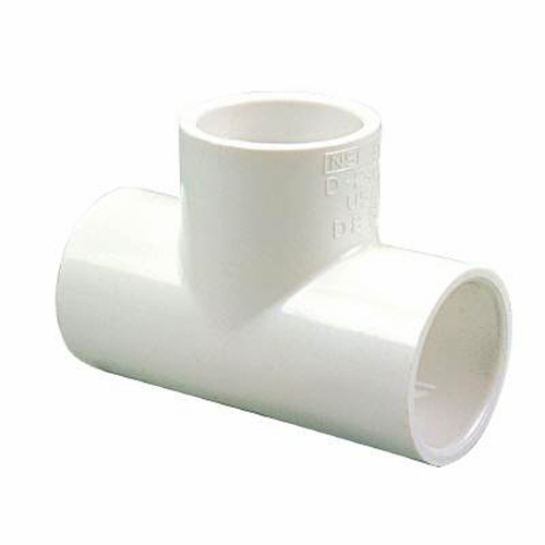 3/4 in. PVC Tee [All Slip]