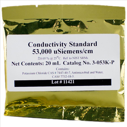 Neptune Conductivity Calibration Solution - 53.0 mS