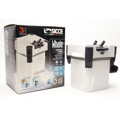 Sicce Whale 120 External Canister Filter 1
