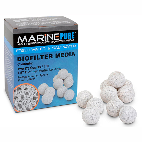 MarinePure BioFilter Media Spheres [1.9 Liters] 1