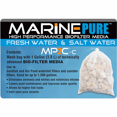 MarinePure MP2C-C Biomedia Filter Media with Bag 1