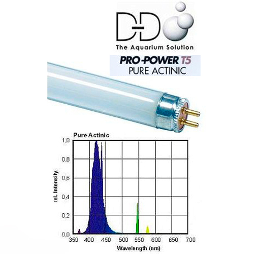 36 in. D-D POWER PRO Pure Actinic 39w T5 Lamp 1