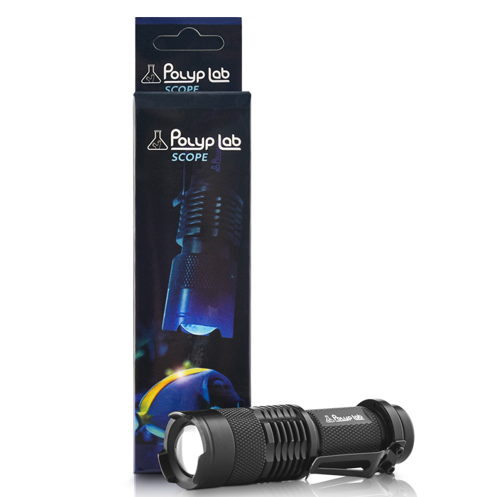 Polyp Lab Scope Blue LED Flash Light
